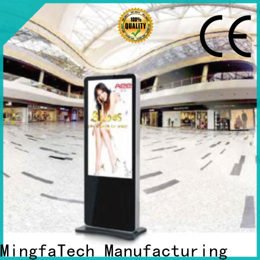 approved lcd digital signage personalized for airport