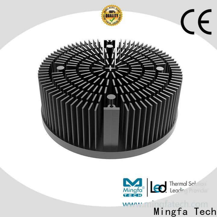 CNC machining large aluminum heat sink heat design for mall