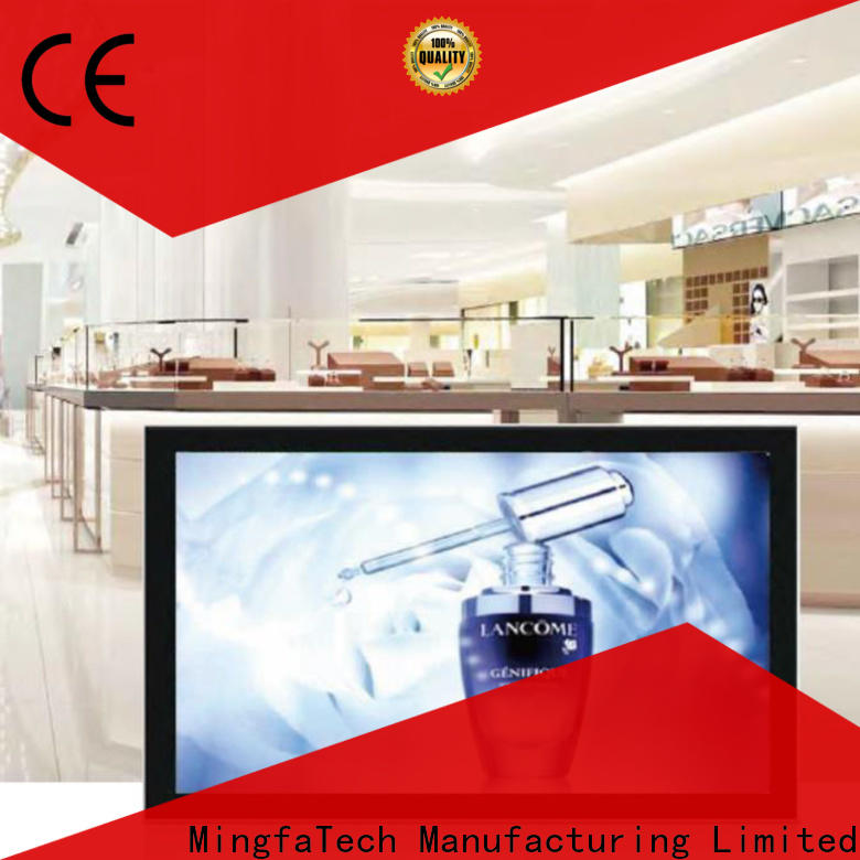 Mingfa Tech approved lcd signage supplier for hotel