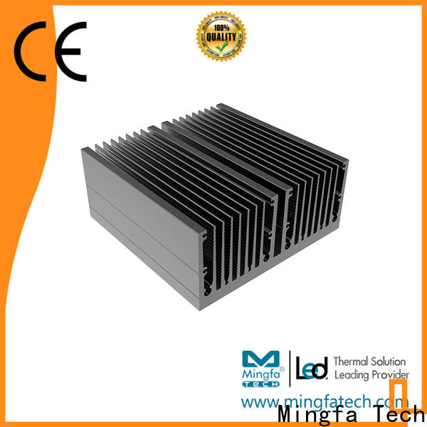 CNC machining aluminum heatsinks tled115×50×115 design for office