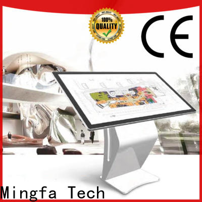 Mingfa Tech approved lcd digital signage personalized for airport