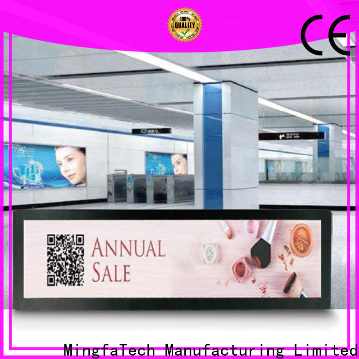 approved digital signage factory price for airport
