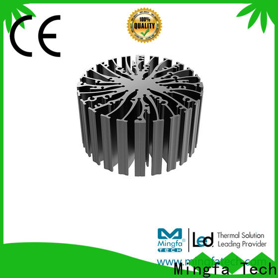 Mingfa Tech cob water cooled heat sink customize for mall