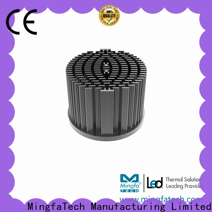 metal stamping heat sink size xled70307050 design for education