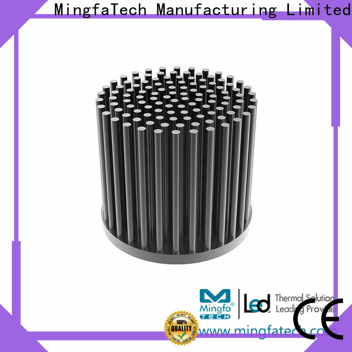 Mingfa Tech led thermal heat sink anodized for retail