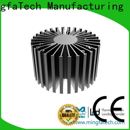Mingfa Tech anodized large heat sink customize for office
