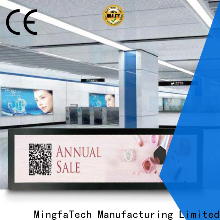efficient lcd signage supplier for station