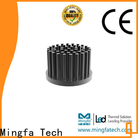 Mingfa Tech smd heat sink cost anodized for parking lot
