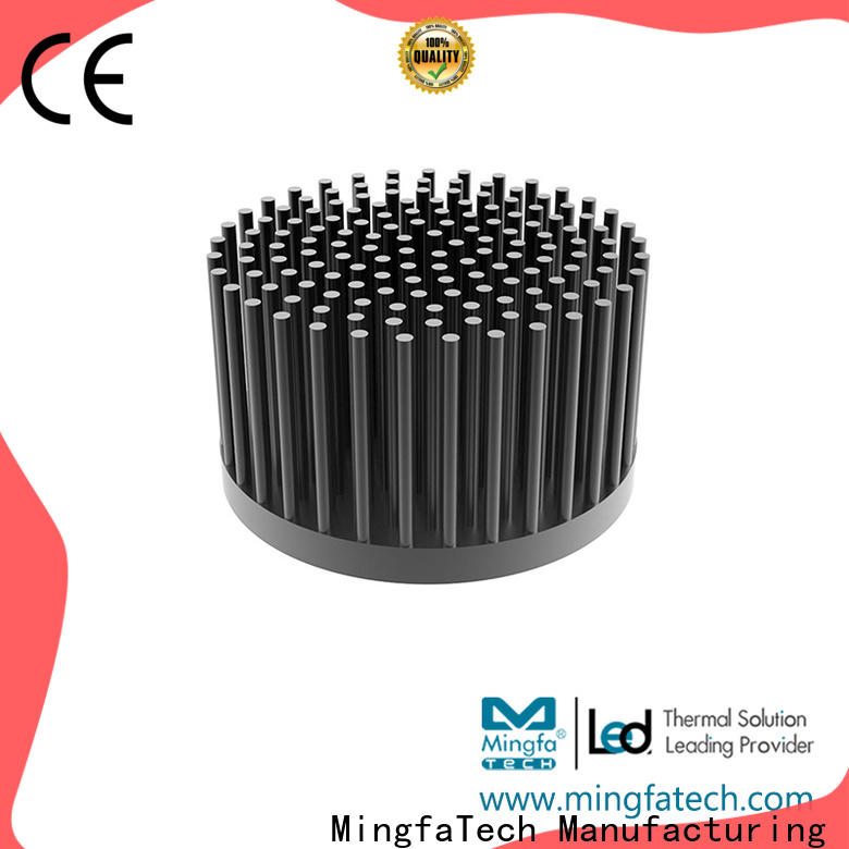Mingfa Tech standard heatsink aluminium design for parking lot