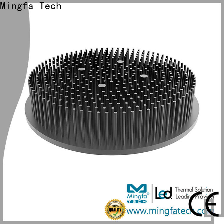 large circular heat sink round design for office
