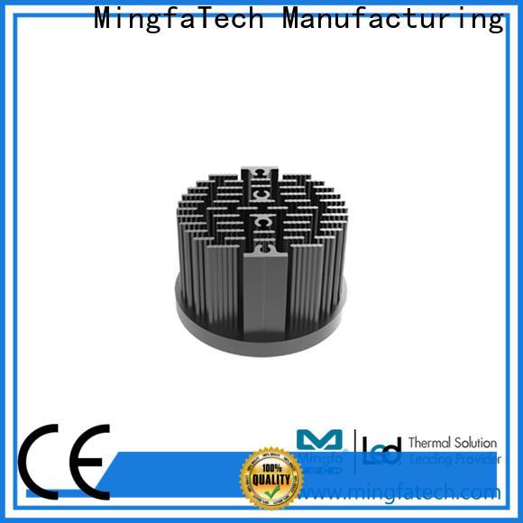 Mingfa Tech forging round heat sink manufacturer for education