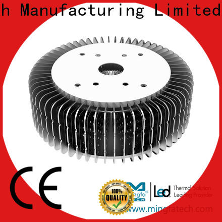 Mingfa Tech anodized extruded aluminum heatsink design for airport