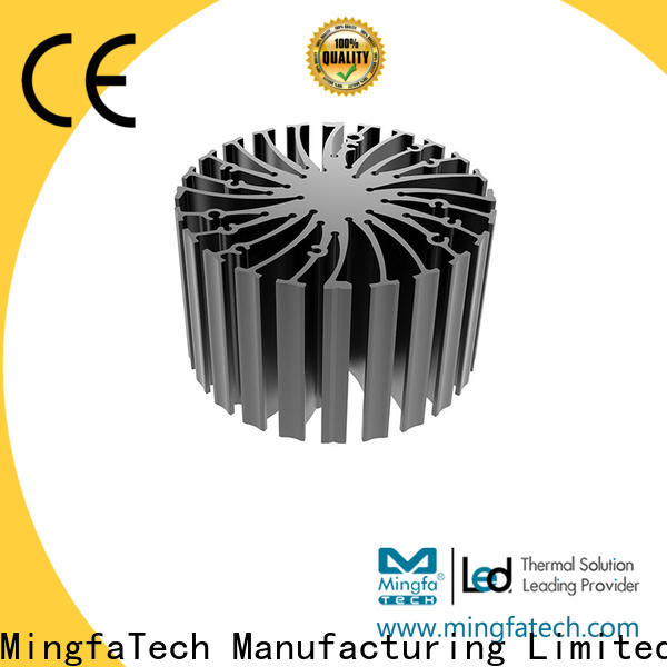 Mingfa Tech round heat sink material design for mall