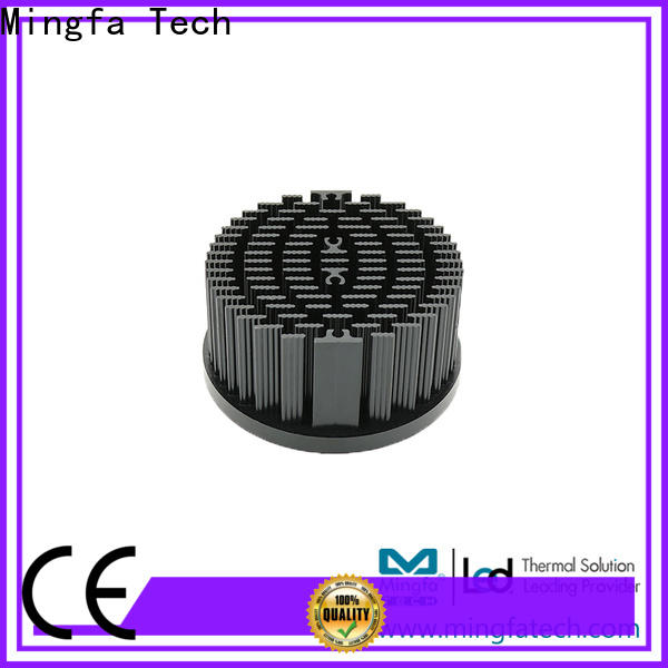 CNC machining cooling module aluminum design for horticulture