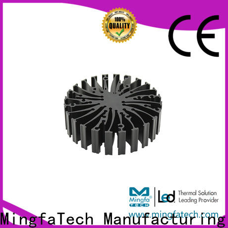 Mingfa Tech automotive water cooled heat sink customize for station