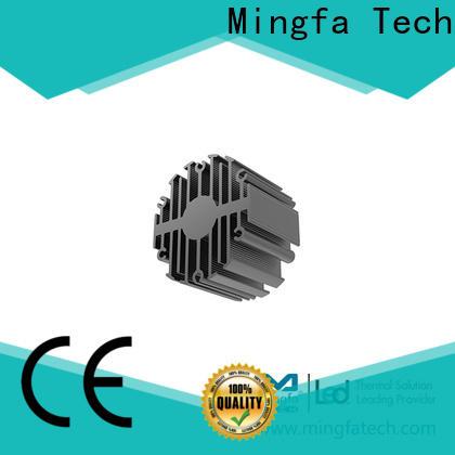 Mingfa Tech extrusion low profile heatsink design for bedroom