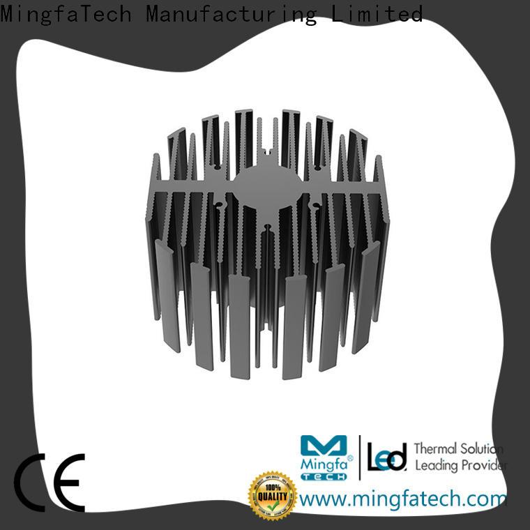 Mingfa Tech industrial low profile heatsink supplier for landscape
