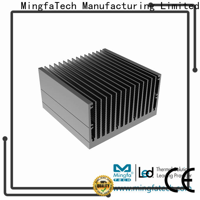 Mingfa Tech forging aluminum heatsinks manufacturer for landscape
