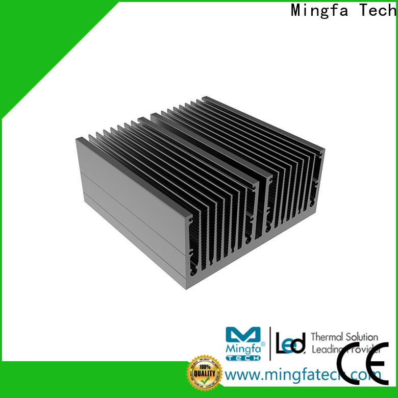 Mingfa Tech tled92×90×3092×90×50 aluminum heatsinks supplier for landscape