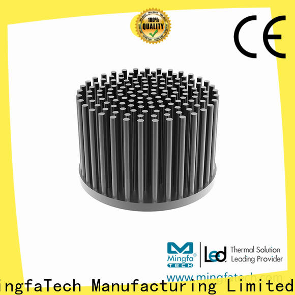 Mingfa Tech led heatsink aluminium anodized for retail