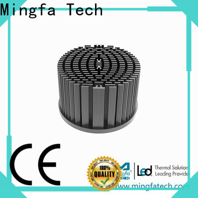 Mingfa Tech aluminum round heat sink design for mall