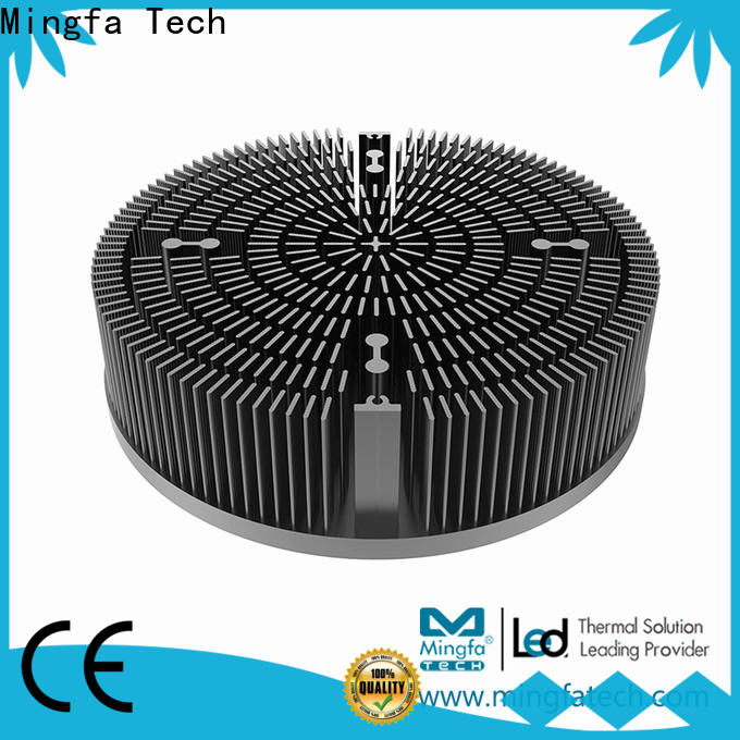 Mingfa Tech passive round heat sink supplier for education