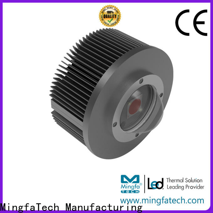 spinning led heat dissipation module wholesale for parking lot