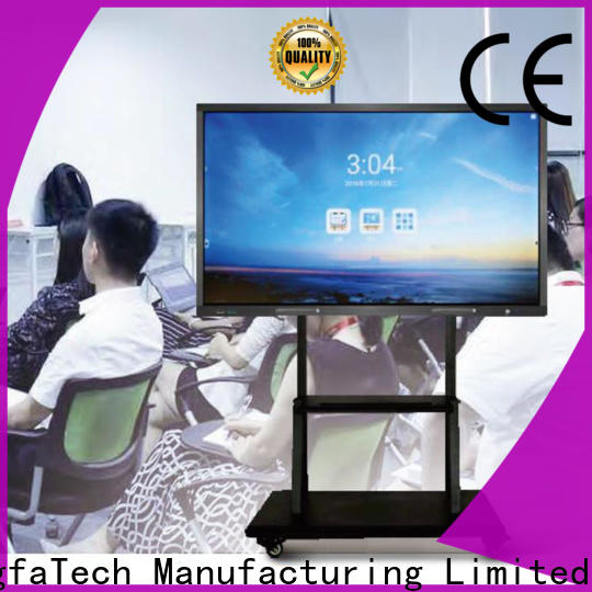 Mingfa Tech all in one monitor from China for library