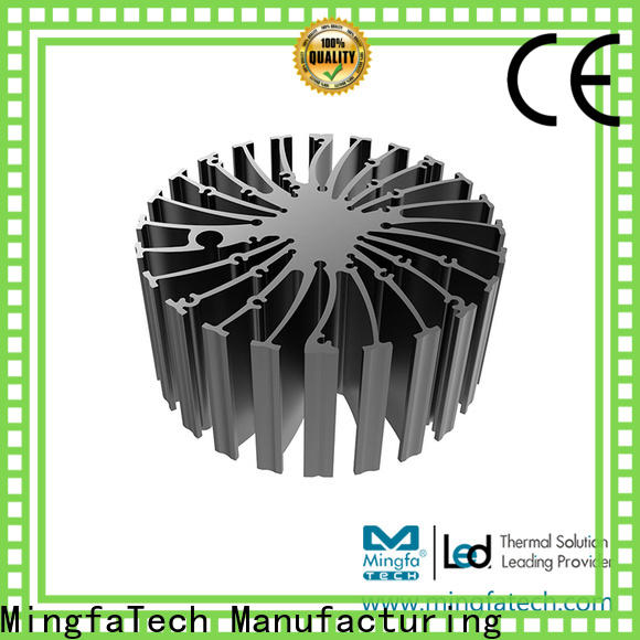 Mingfa Tech extrusion diy heatsink supplier for station